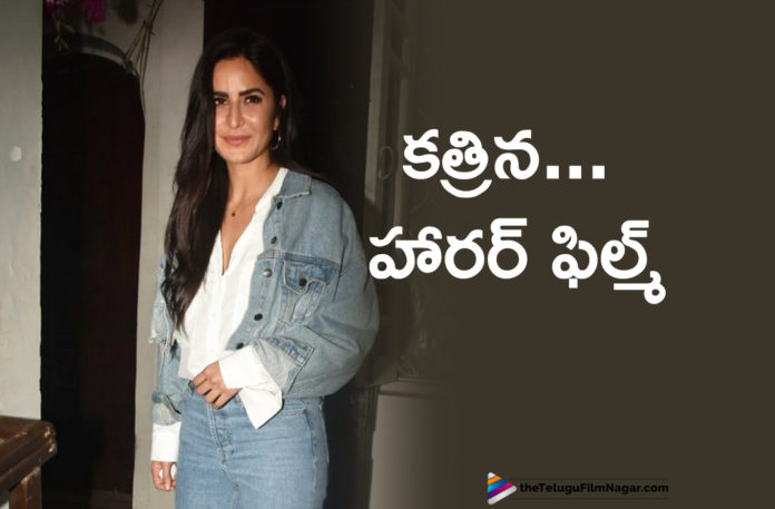 Katrina Kaif To Act In A Horror Movie