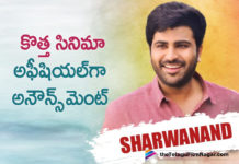 Sharwanand's New Movie Announced Officially